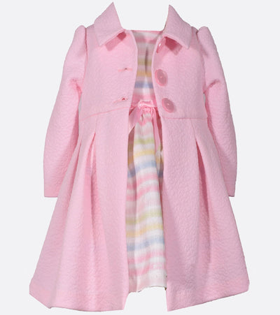 easter dress, easter coat set, girls coat set, spring outfit