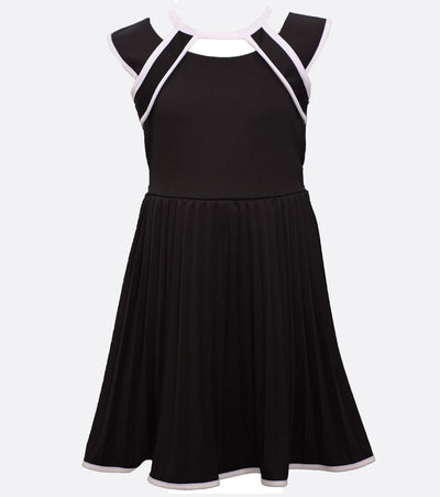 tween dress with cut out detail