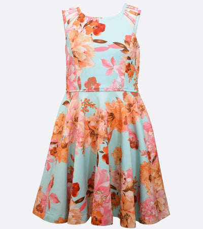 Dresses for Tweens Floral Scuba