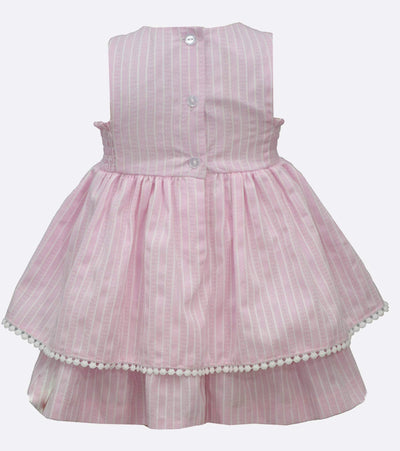 baby girl summer smocked dress