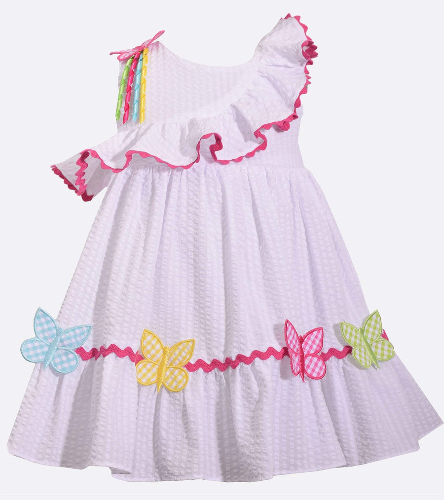 little girl sundress, sundresses for little girl, butterfly, cute dress