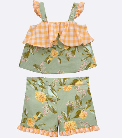 Bella Floral Short Set