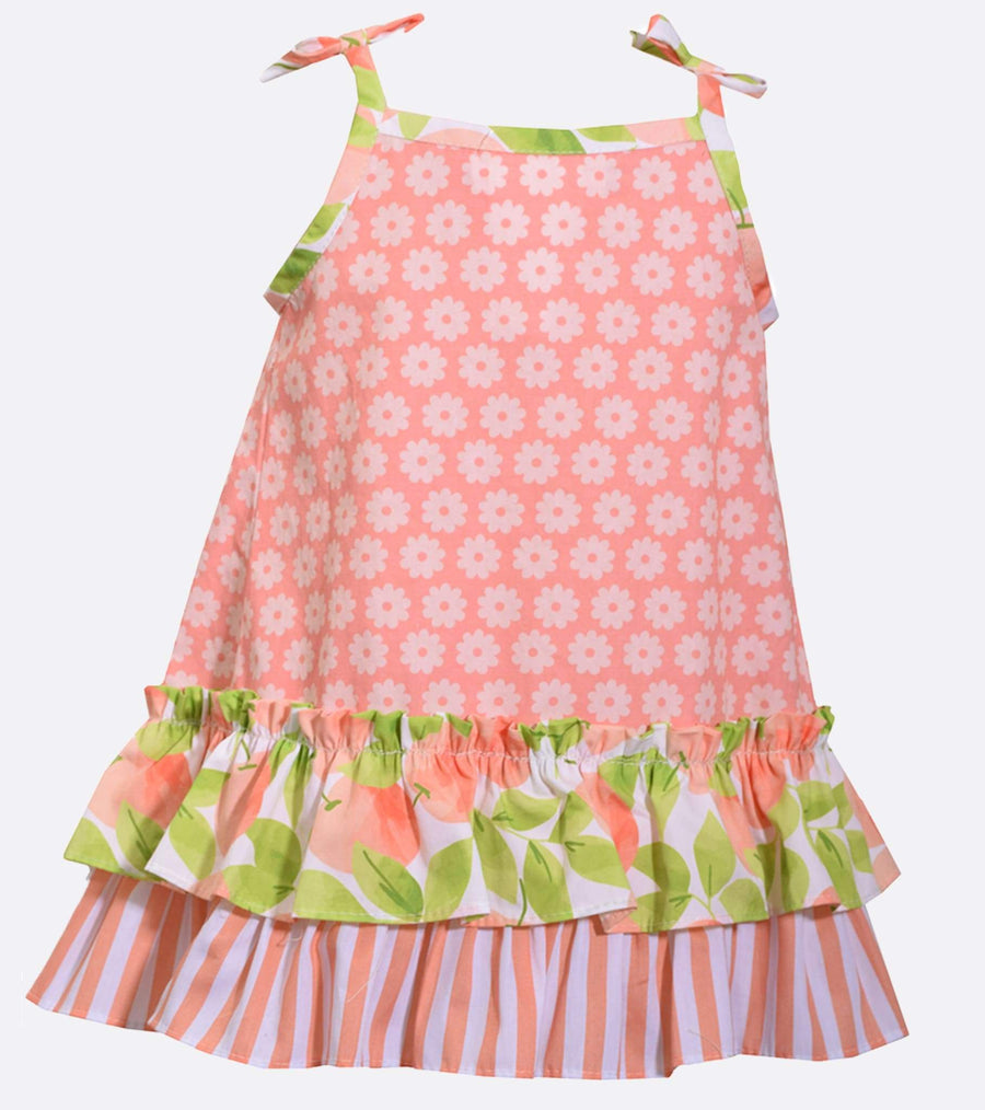 peach, sundress, girls sundress, cute outfit, spring, dress, summer, girly