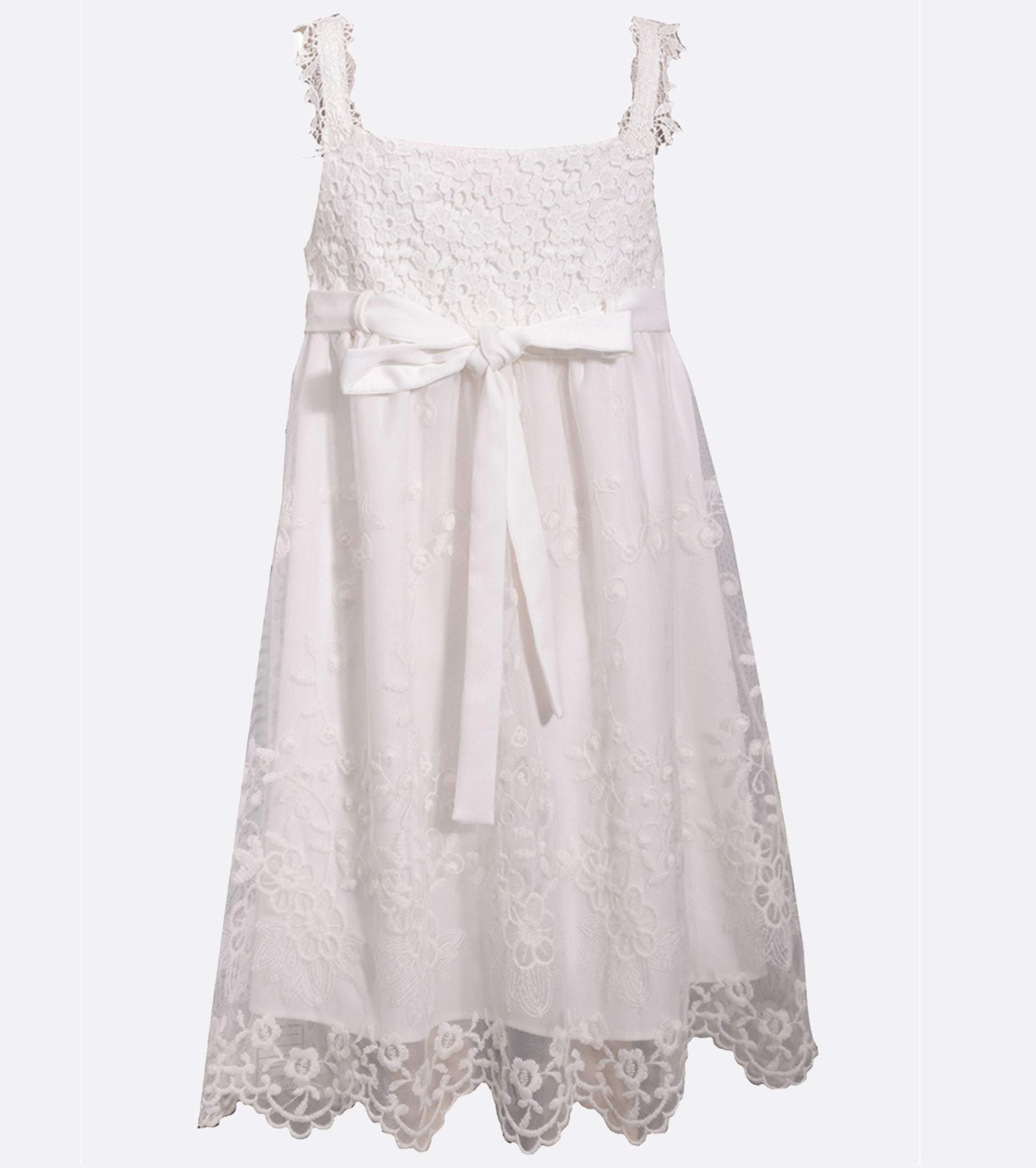 Pearl Flower Girl Bianca Dress Bonnie Jean