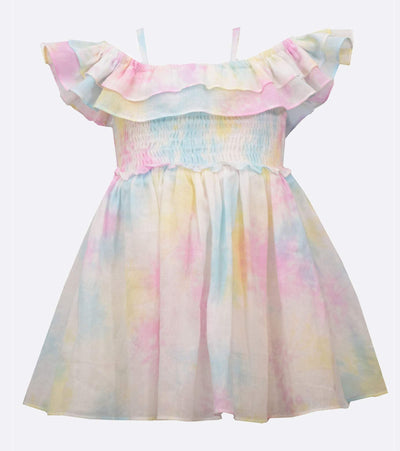 baby girl tye dye sundress