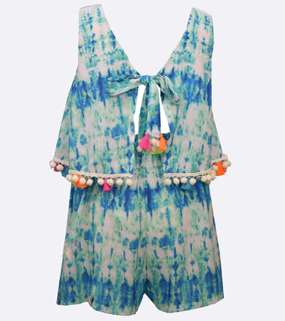 April Tie Dye Romper