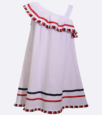little girl americana, plus size americana dress, red white and blue, fourth of july