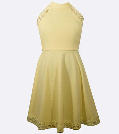yellow dress, girls party dress, summer, sunny, bright