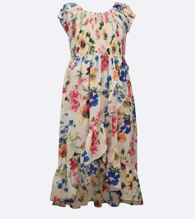 tween midi floral sundress