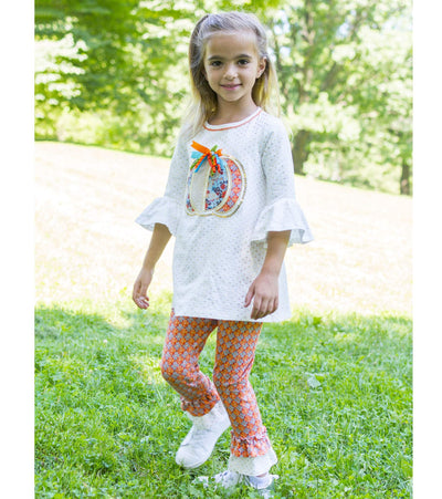 Marley Pumpkin Legging Set