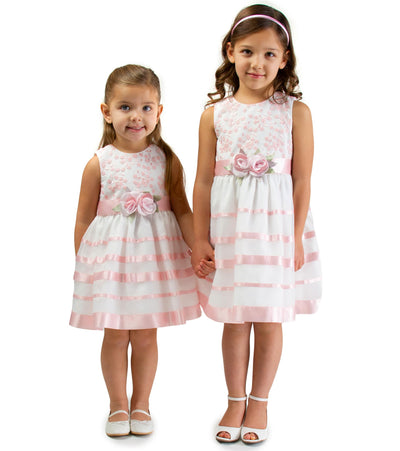 Matching girls easter dress