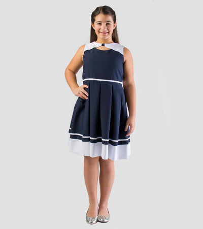 nautical dress, nautical plus size, plus size, dress