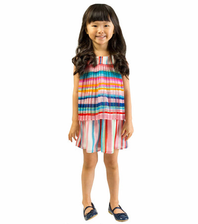 girls romper, trendy romper, stripe, summer, tween, cute