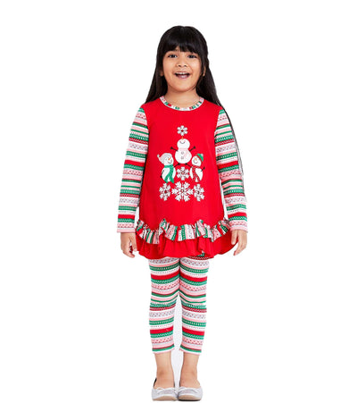 Sammi Snowman Legging Set