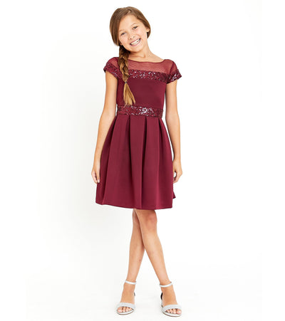 tween girls sequin party dress