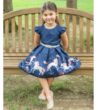 Dina Unicorn Party Dress