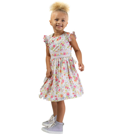 Sally Smocked Dress