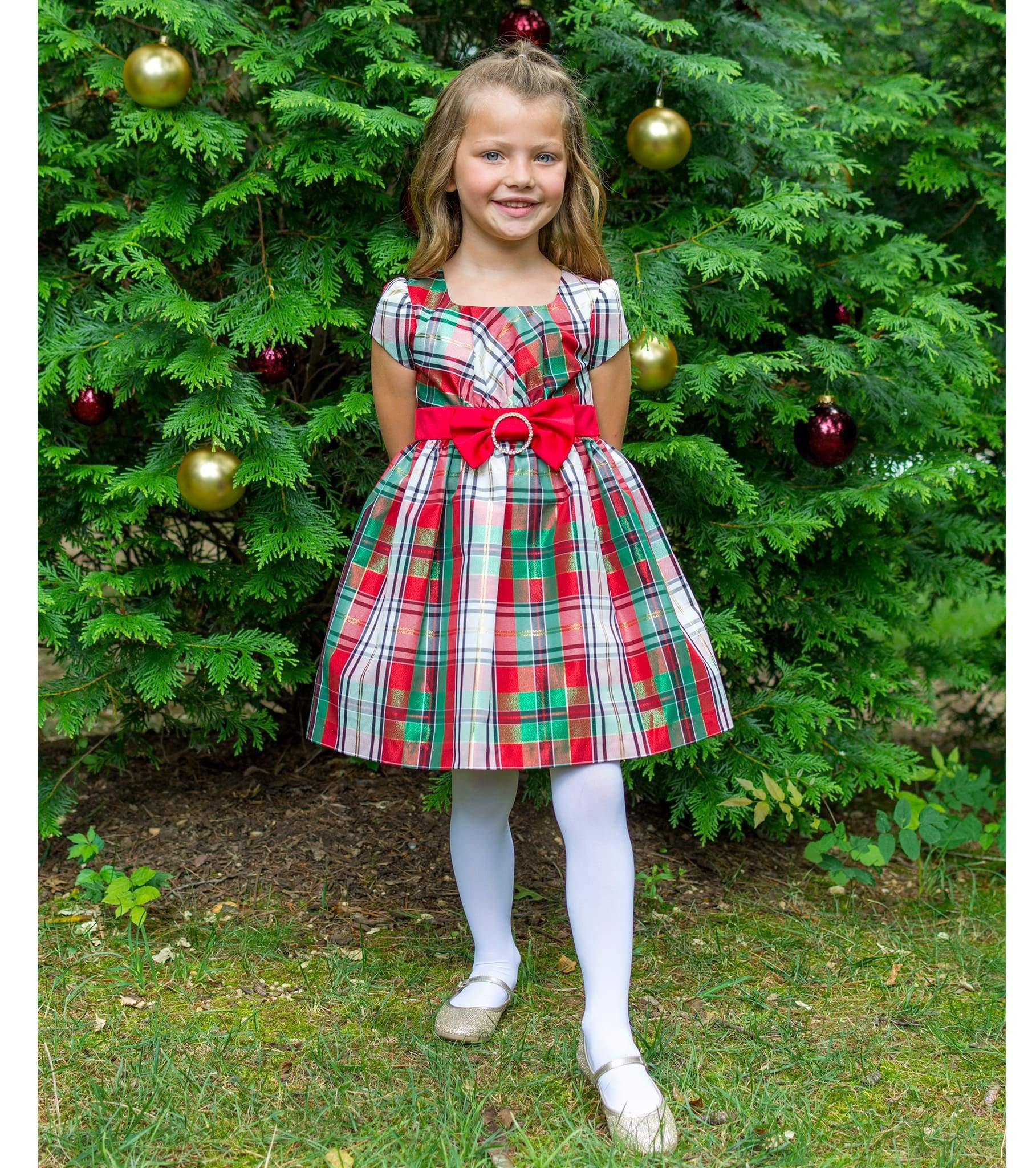 plaid dress red and green christmas dresses for girls girls christmas dresses - Christmas Plaid Dress