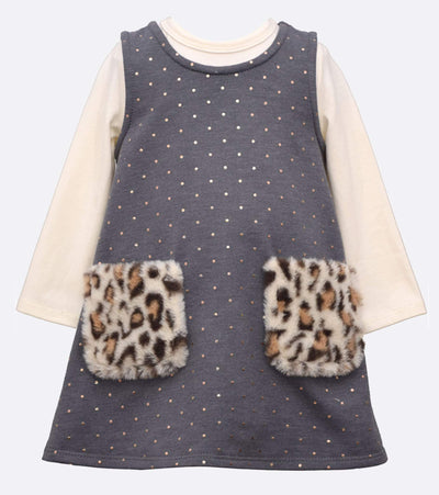 little girls polka dot jumper