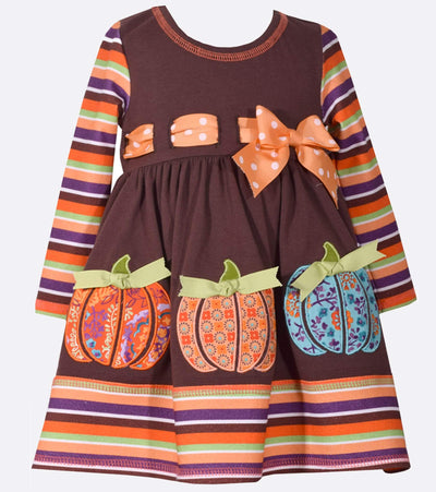 Pumpkin Dress, Halloween, Thanksgiving Dress