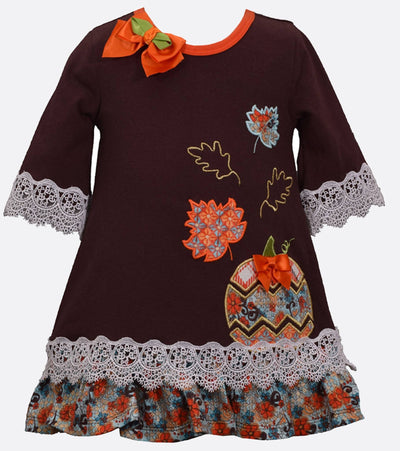 Halloween and Thanksgiving Pumpkin Fall Dress