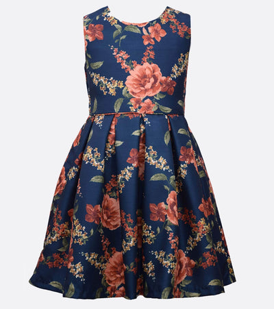 Rebecca Floral Dress with Cardigan