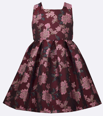 Jules Floral Jacquard Dress