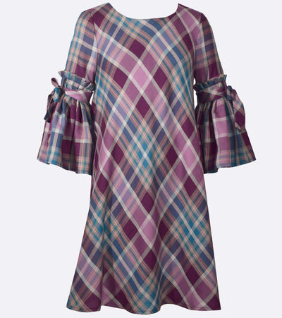 plaid dress, tween, fall dress, back to school, casual dress, big girl, casual dress for girls