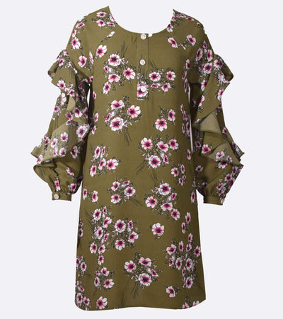 Dresses for Tween, floral, fall dress, fall fashion, tween dress