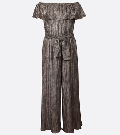 Tween Girls Metallic Jumpsuit
