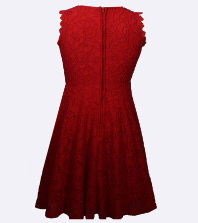 Cara Lace Skater Dress
