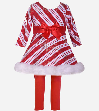christmas legging set, candy cane, christmas outfit, cute girls, dress
