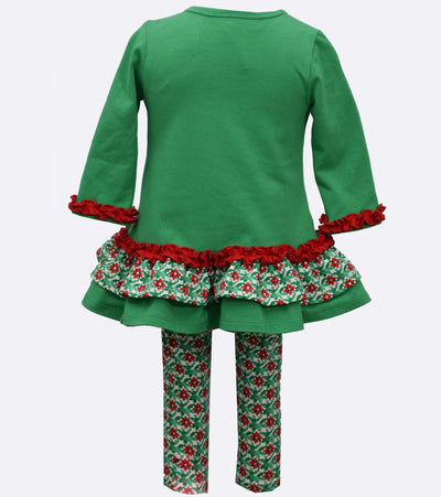 Festive Santa Legging Set