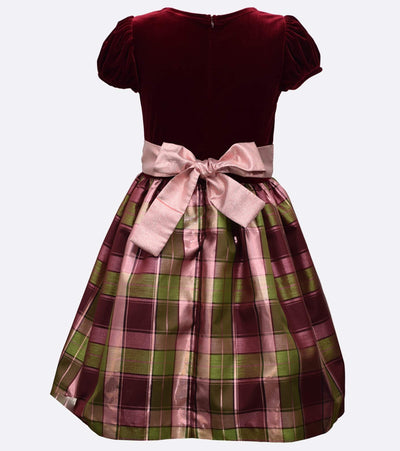 Fiona Plaid Dress