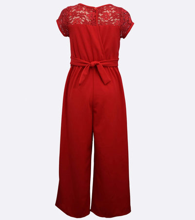Gina Lace Jumpsuit