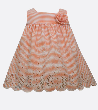 Embroidered sundress for kids