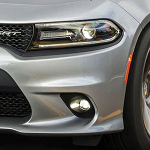 LED Fog Lights for 15-19 Dodge Charger 14-16 Jeep Grand Cherokee