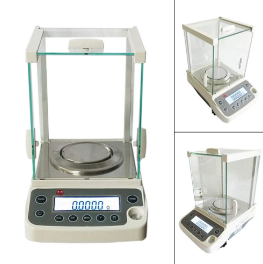 Lab Scale Precision 0.0001g Analytical Electronic Balance Load-Cell USB Analytical Balance