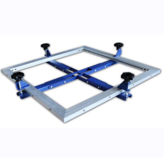 Fast Self Stretching Screen Frame Type Multi-Functional Self-tensioning Screen High Precise Mesh Stretching Equipment