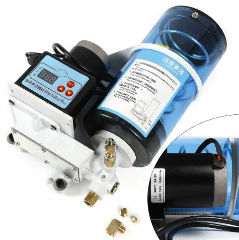 Electric Grease Pump Oil Lubricant Pump Automatic 2L Electric Grease Pump Oil