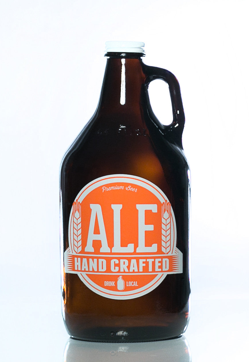 64 oz. Ale Growler - Haüs Of Growlers