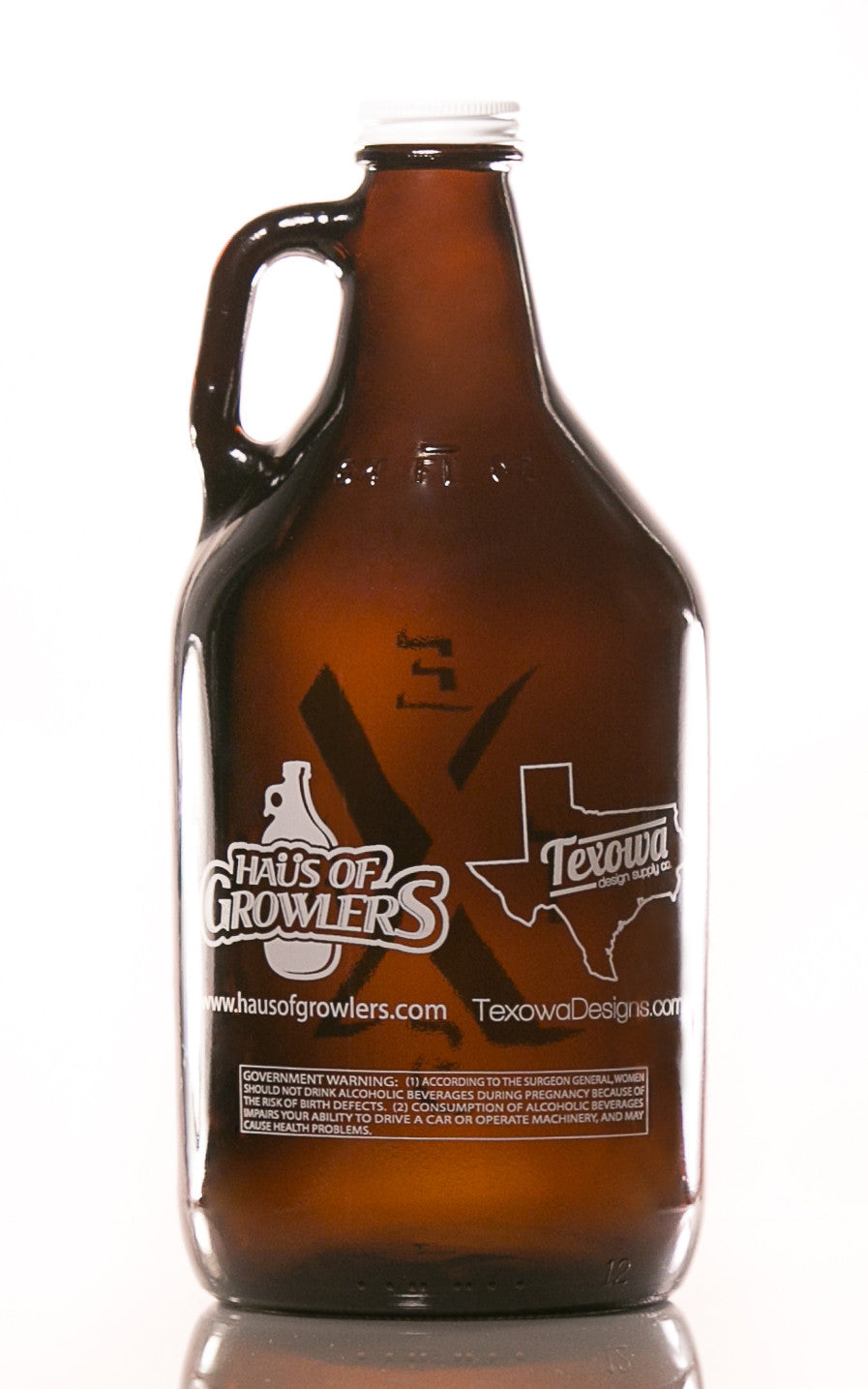 64 oz. Texas Road Sign Growler - Haüs Of Growlers