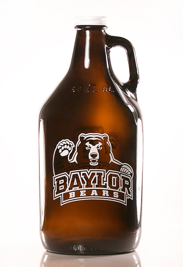 64 oz. Baylor Beer Growler (Officially Licensed) - Haüs Of Growlers