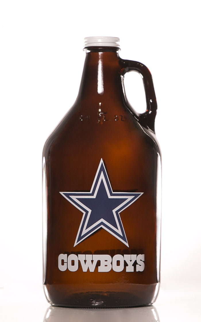 64 oz. Dallas Cowboys Growler (Officially Licensed) - Haüs Of Growlers