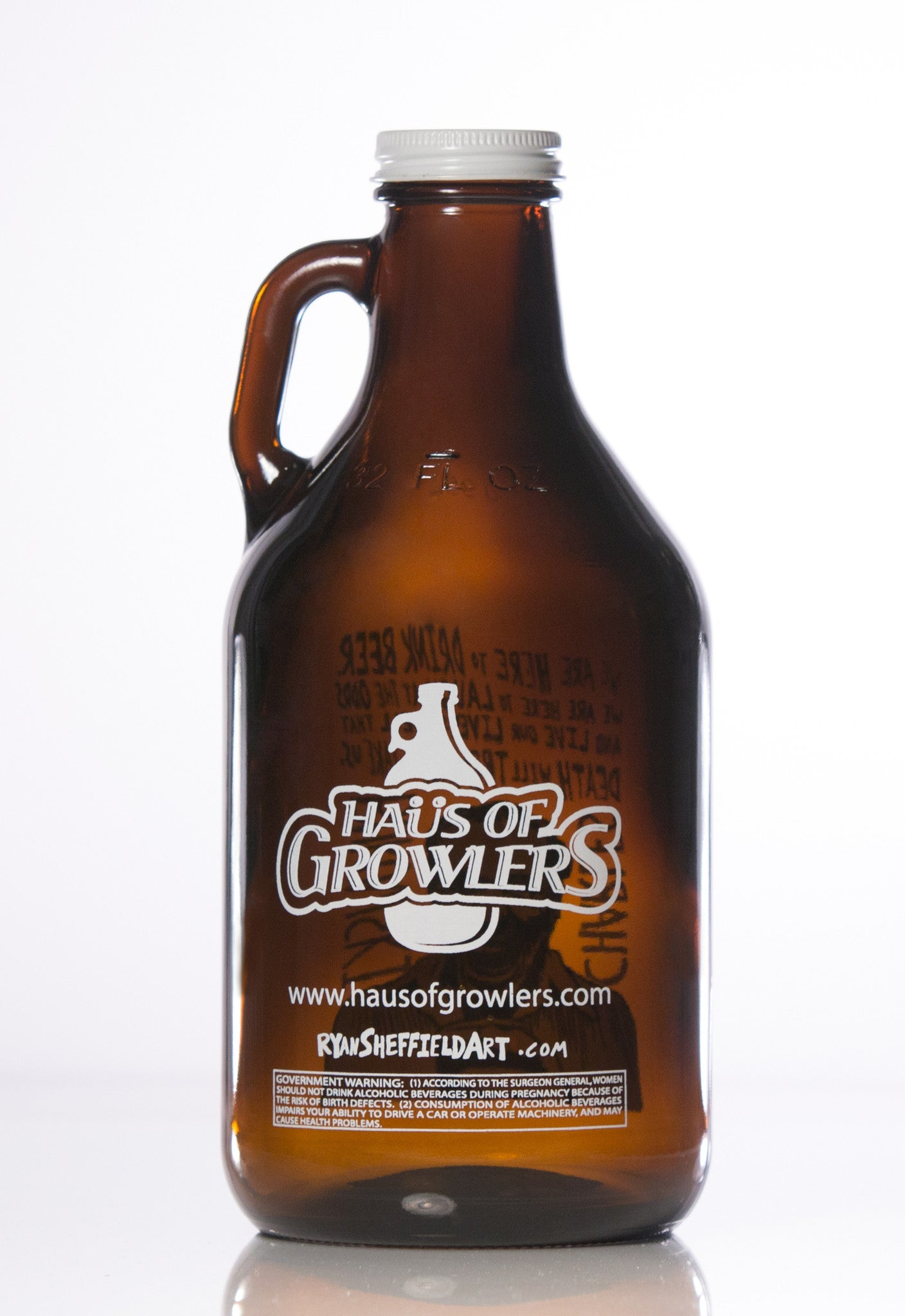 32 oz. Benjamin Franklin Growler - Haüs Of Growlers