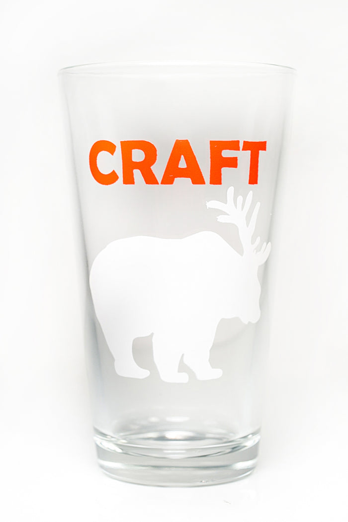 Craft Beer Pint Glass