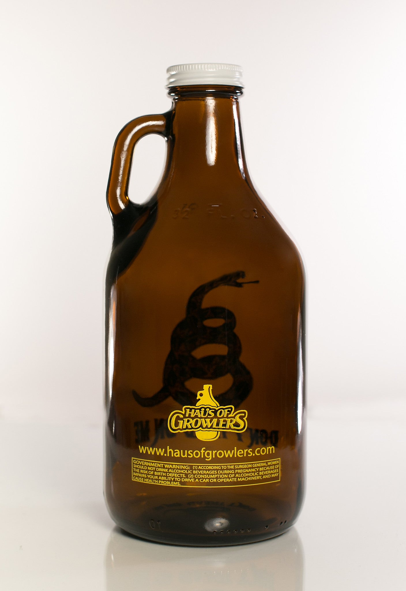 32 oz. Don't Tread On Me - Haüs Of Growlers