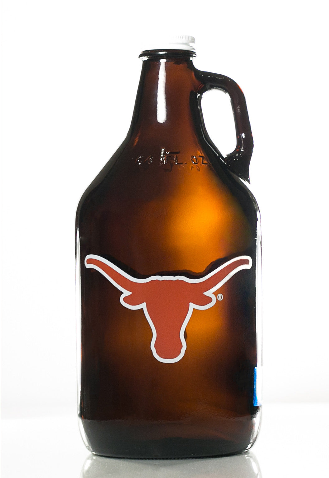 64 oz. Texas Longhorns Growler (Officially Licensed) - Haüs Of Growlers