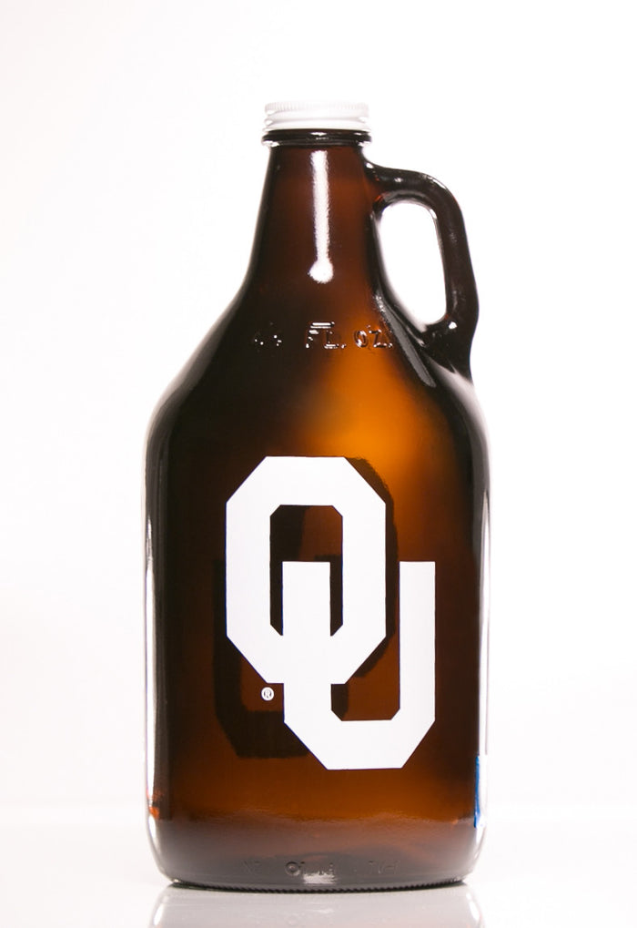 64 oz. OU Growler (Officially Licensed) - Haüs Of Growlers