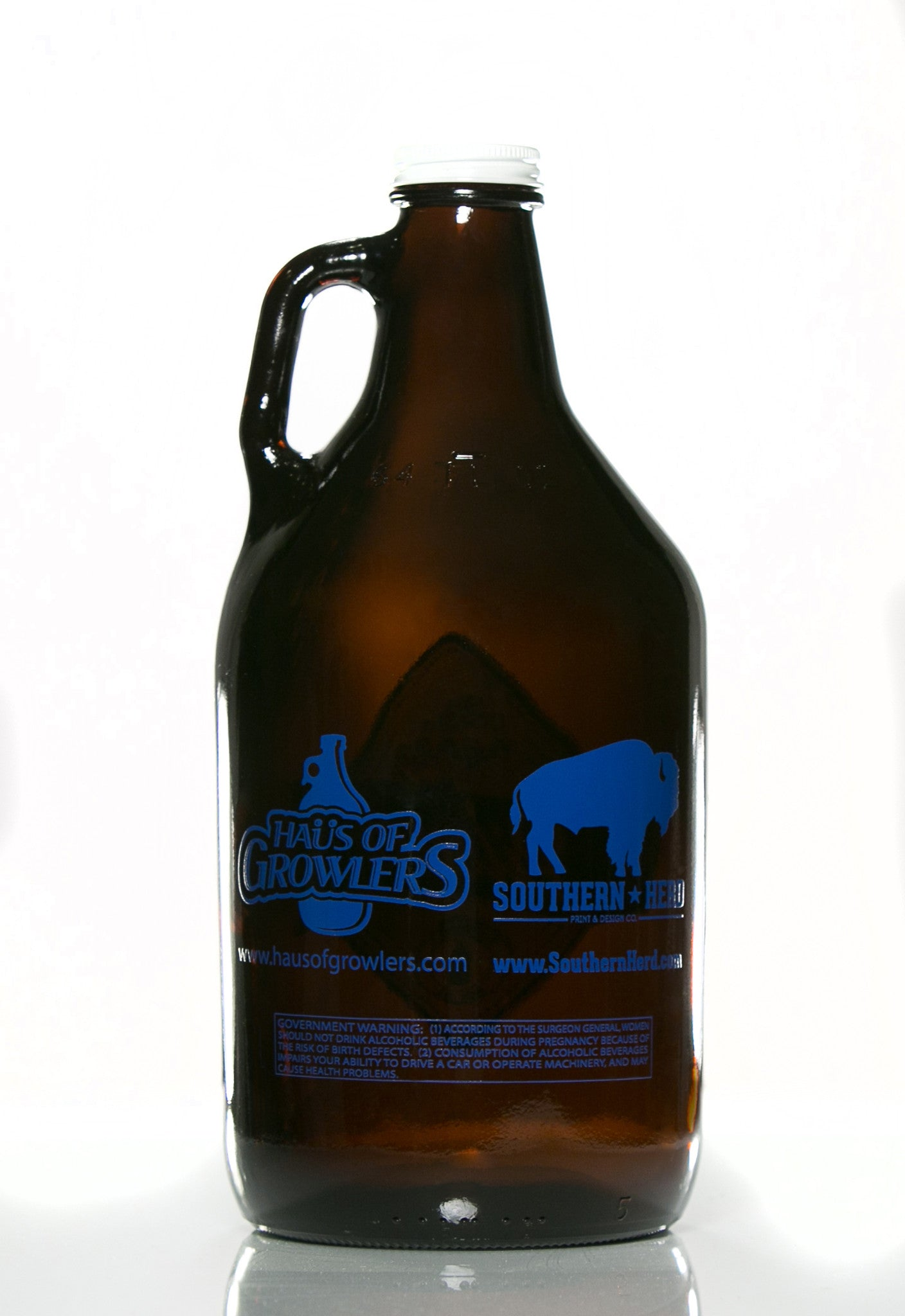 64 oz. Pilsner Growler - Haüs Of Growlers